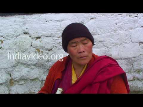 Buddhist Monk in Tawang, Arunachal Pradesh