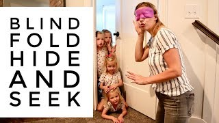 BLINDFOLD Hide And Seek-Who Is A CHEATER?
