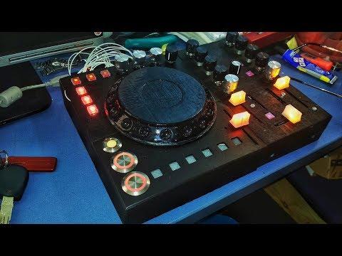 DIY CDJ Arduino MIDI 3D Printed