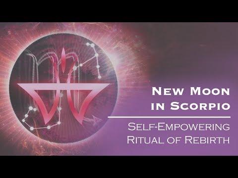 New Moon in Scorpio 2018: Self-Empowering Ritual of Rebirth