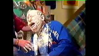 Sooty - Matthew Corbett Face Down In Cake - Pie Face