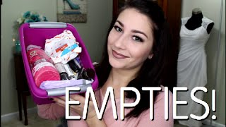 Makeup and Beauty Empties : Oct.-Nov. 2015 : lainamarie91