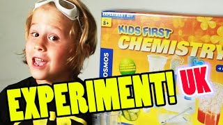Science Fair Projects: Kids First Chemistry Set Kit - Thames & Kosmos