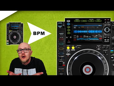 CDJ 2000 Nexus 2 Beat Sync tutorial // auto beat match