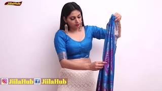 How To Wear Simple Silk Saree …