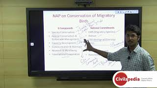 Operation Greens | NAP on Conservation of Migratory Birds | Bhil Tribes - UPSC Prelims 2019