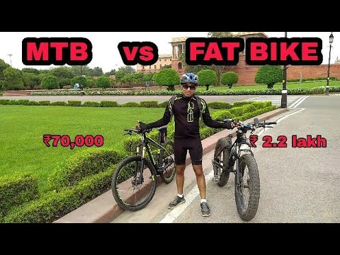 FAT BIKE vs MTB | which one should you buy?