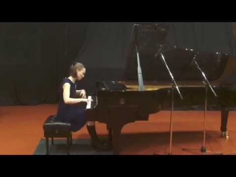 Claude Debussy - Etude Pour les Octaves - Performed by Katrina Gupalo