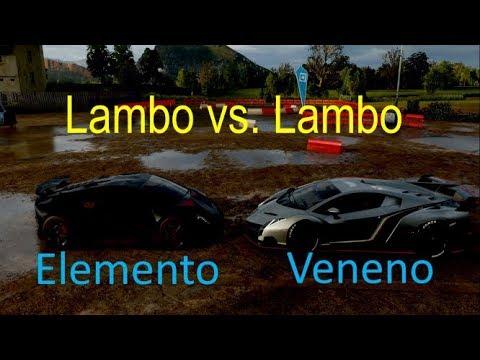 Forza Horizon 4 Lamborghini Veneno Vs Sesto Elemento Racing