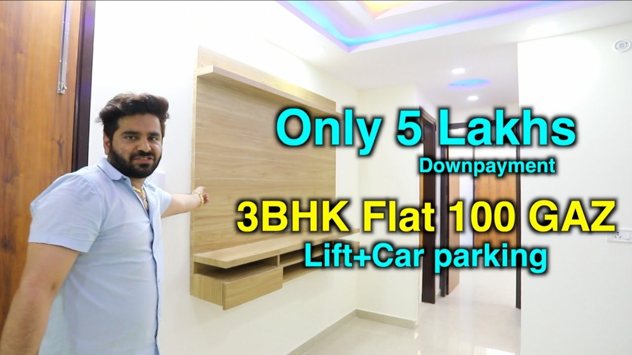 3bhk Semi furnished builder floor best property near Nawada metro Lift+Car parking   8448440765