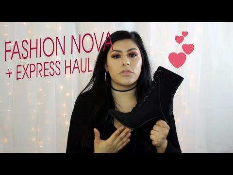 Fashion Nova + Express Haul | 2017