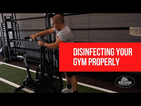 How To Disinfect Your Gym With Bulldog Scrubbers