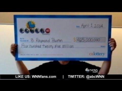 California's $425M Powerball Winner Revealed
