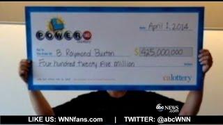 California s $425M Powerball Winner Revealed