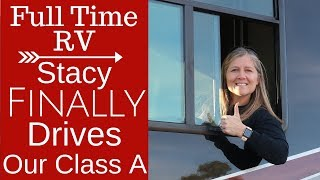 Learn to Drive a RV - Class A - Full Time RV