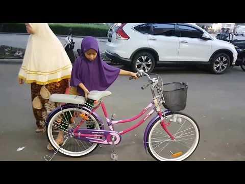 Sepeda Mini 24 Inch Untuk Anak Sd Atau Ibu Nya 120-160 Cm
