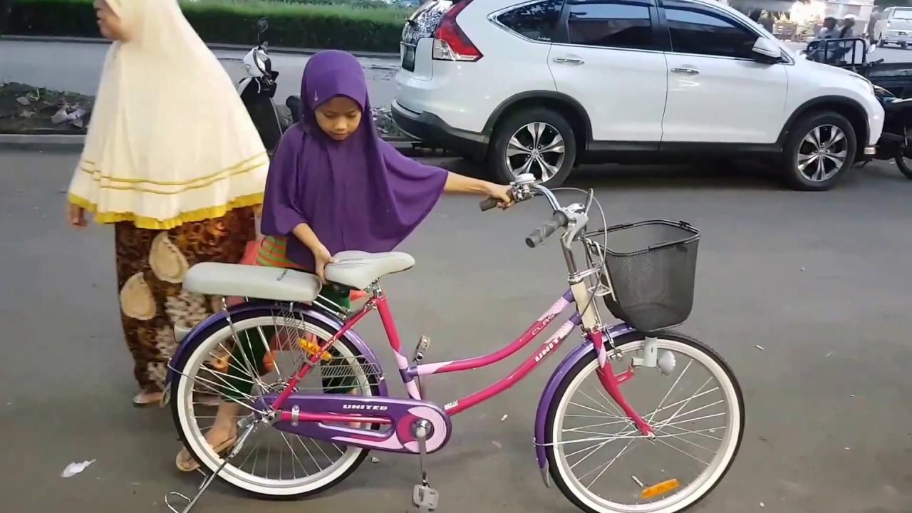 Sepeda Mini 24 inch untuk Anak Sd atau Ibu nya 120160 Cm