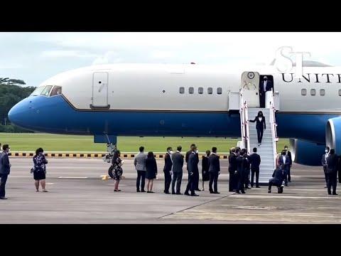 US Vice-President Kamala Harris arrives in Singapore | Aug 22, 2021