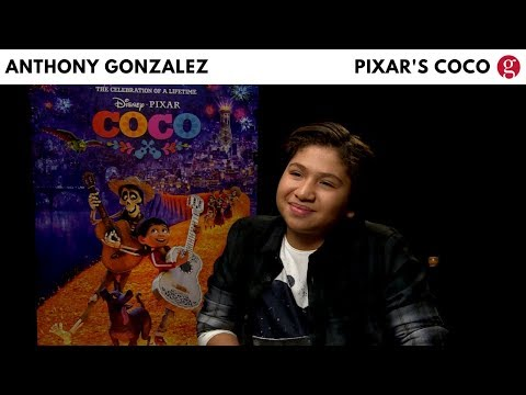 Anthony Gonzalez talks Pixar's Coco