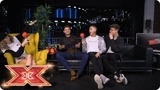 Lloyd raps, Jack & Joel beatbox and Kevin talks musical tattoos | Just Eat's Xtra Bites | Episode 11