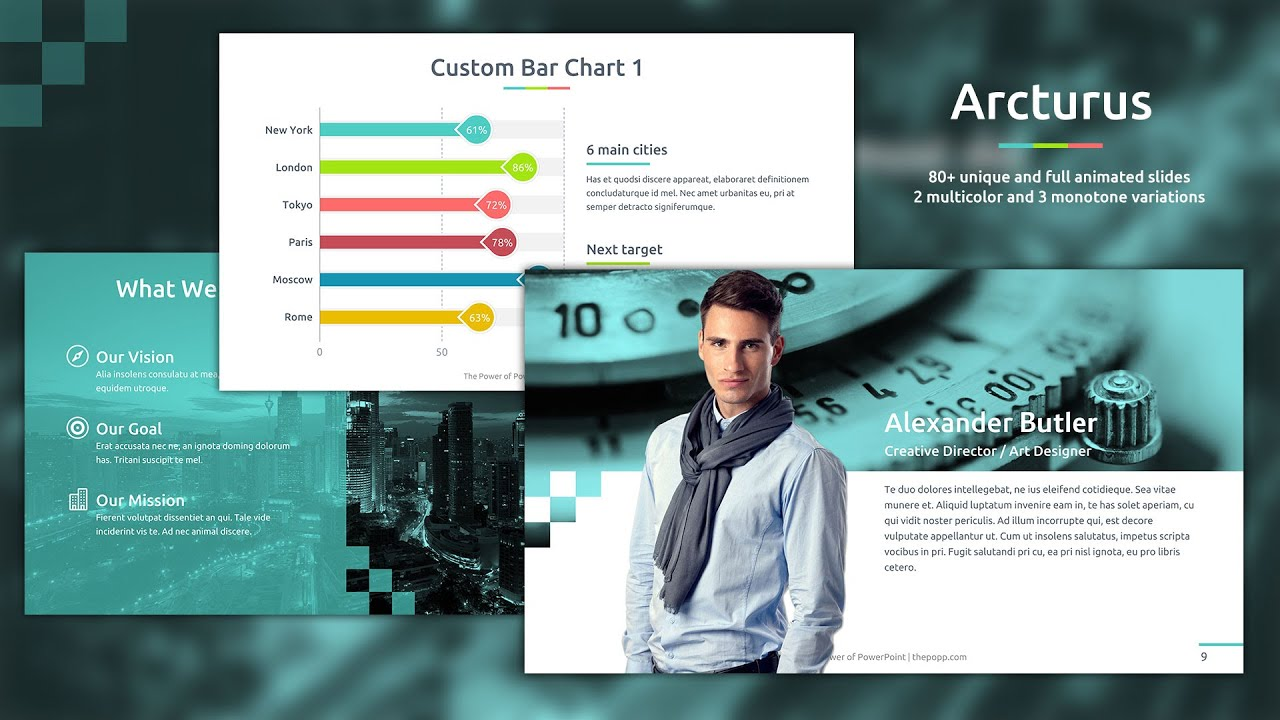 Arcturus free powerpoint template youtube toneelgroepblik Images