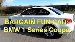 BMW 1 Series Coupe: Bargain Fun car