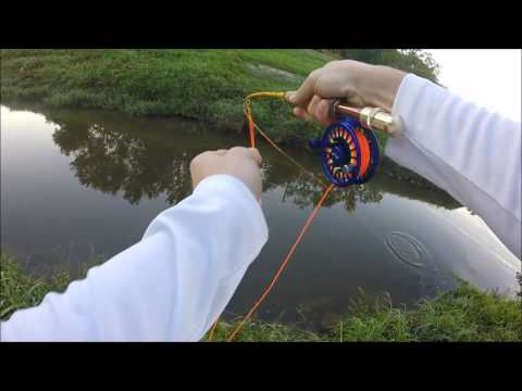 Fly fishing in ponds epic topwater funnydog tv for Fly fishing houston