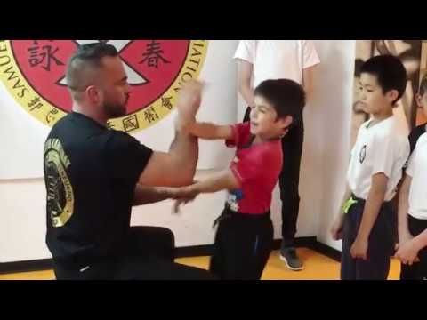 Combat IP Man Wing Chun Kids