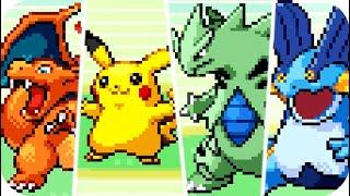 Pokémon Emerald : All Pokémon Sprite Animations (HQ)
