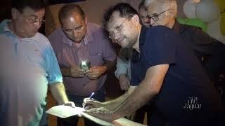 Jaguar News Fernando Soares Diretor da empreiteira que irá construir a quadra na Comunidade do Cab