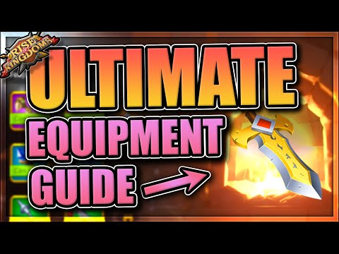 Ultimate Equipment and Crafting Guide for Rise of Kingdoms (rok)