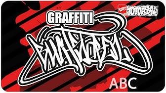 Graffiti Alphabet für Anfänger ABC