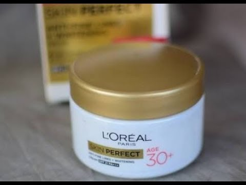 Reviews on LOREAL skin perfect 30+ cream