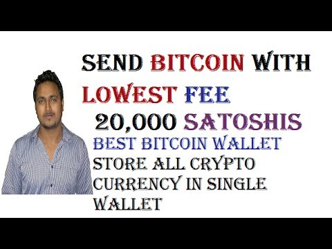 How To Send Bitcoin With Lowest Transaction Fee - Best Bitcoin Wallet - Store All Crypto Coins