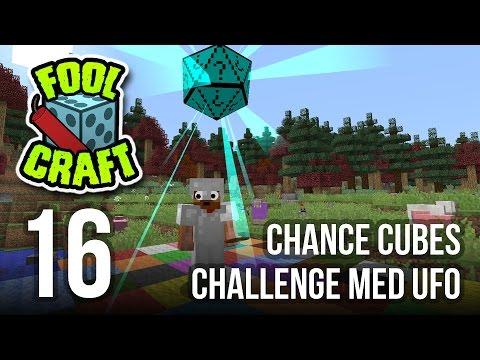 CHANCE CUBES CHALLENGE MED UFO - Modded Minecraft: Foolcraft