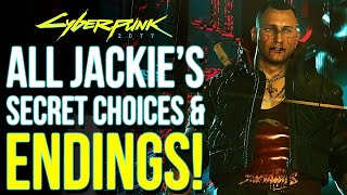 Sending Jackie to Vik vs His Family | Cyberpunk 2077 All Jackie's Secret Endings & Missable Items!