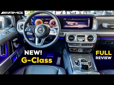2020 MERCEDES G Class NEW FULL Review Interior G350d AMG G Wagon Geländewagen
