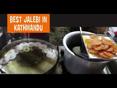 Popular Sweet Jalebi from the Indian Cuisine - Food Nepal
