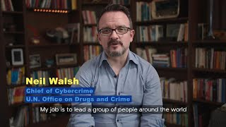 Awake at Night with Neil Walsh, UN Cybercrime expert