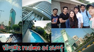 RD Vlog#2 My first ad Shoot of realme