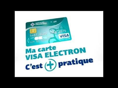 OPT - CARTE VISA ELECTRON