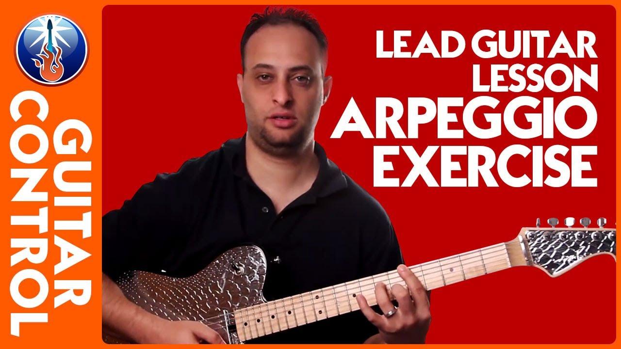 lead guitar lesson arpeggio exercise guitar fretboard knowledge youtube. Black Bedroom Furniture Sets. Home Design Ideas