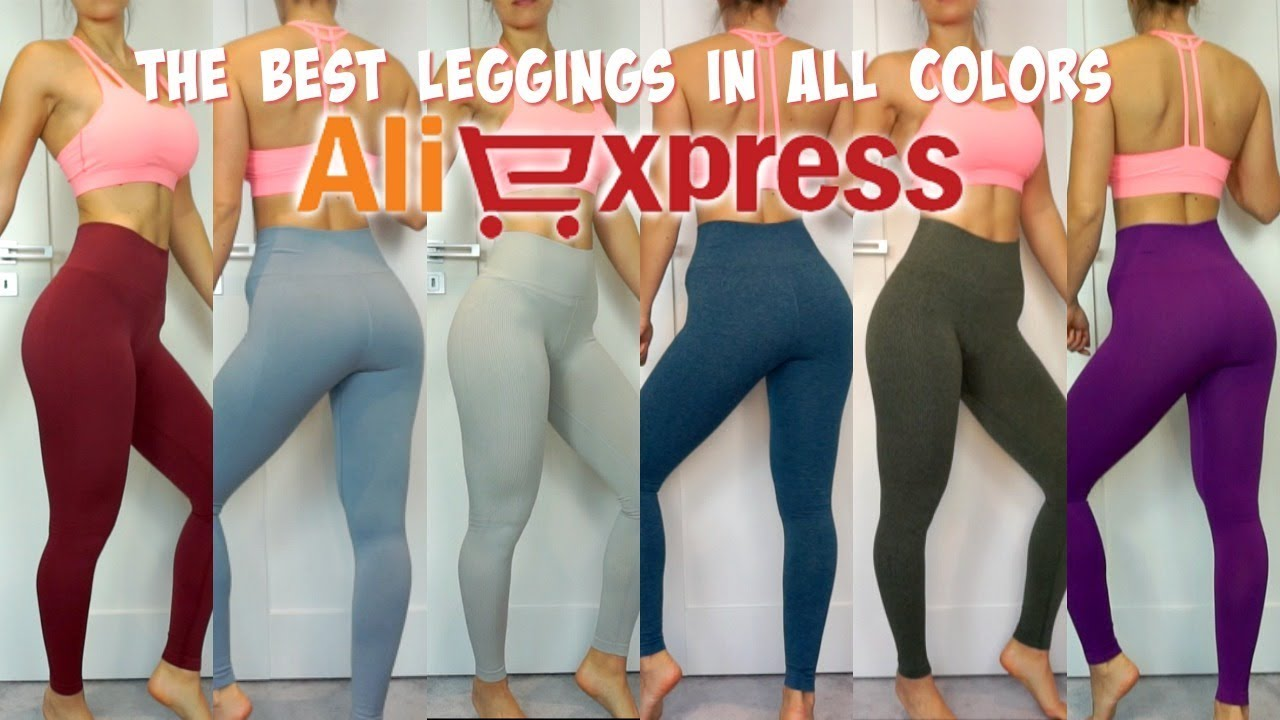 5c3b7b9a96 The BEST Pair of ALIEXPRESS seamless LEGGINGS | HOT or NOT Saturday ...