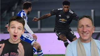 REAL SOCIEDAD 0-4 MAN UNITED REACTION HIGHLIGHTS | Europa League