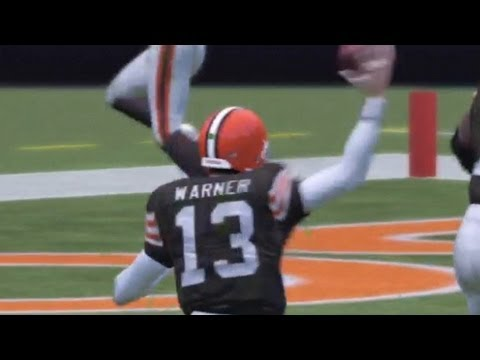 Madden 13 Peyton Manning Retires, then Returns? Amazing Tip Int: Kurt Warner Gameplay Year 1-2