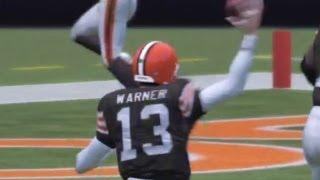 Madden 13 Peyton Manning Retires, then Returns? Amazing Tip Int: Kurt Warner Gameplay Year 1-2