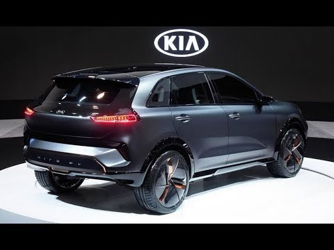 the kia niro ev electric crossover concept and interior. Black Bedroom Furniture Sets. Home Design Ideas