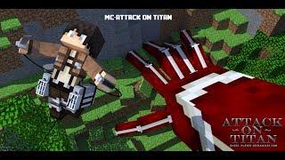[Minecraft - Attack On Titan] - เดินเล่นไปทั่ว #1