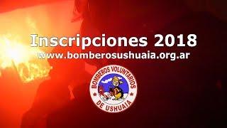 Llamado a inscripciones aspirantes a bomberos 2018