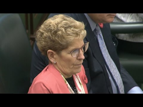 Premier Wynne pressed for answers after Liberal bribery charges